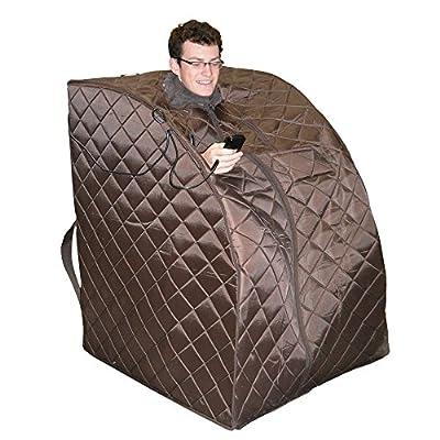 FamilyPoolFun Harmony Deluxe Oversized Portable Sauna