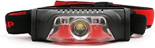 Hoofd Torch 4 Modi Koplamp Super Heldere Hoofd Torch Light Power door 1* aa Batterijen Zwart+rood Kleur Hoofd Lamp