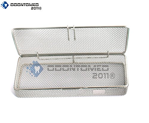 OdontoMed2011 INSTRUMENT TRAY AND MESH PERFORATED BASKETS STERILIZATION TRAY 9