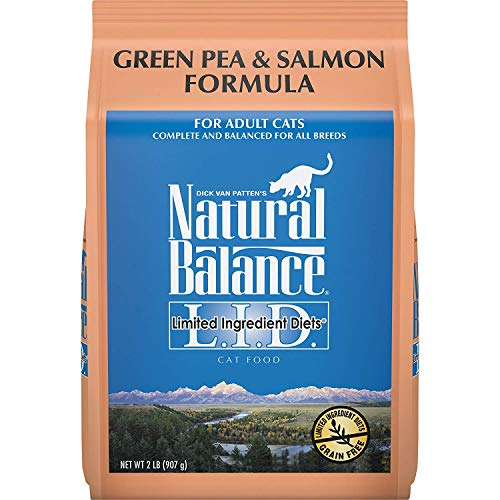 Natural Balance L.I.D. Limited Ingredient Diets Dry Cat Food,...