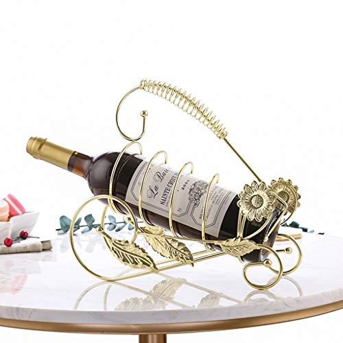 LYLSXY Estante para Vino, Encimera para una Sola Botella Estante para Vino Pequeño Porta Botellas, Estante para Exhibición de Vino en la Despensa Bodega Cocina Sala de Estar Estante de Alenamiento In