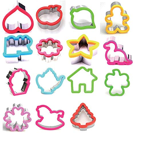 Cake Sculpting & Modeling Tools Cookie Cutters Baking Tools & Accessories Stainless steel biscuit mold with fruit guard