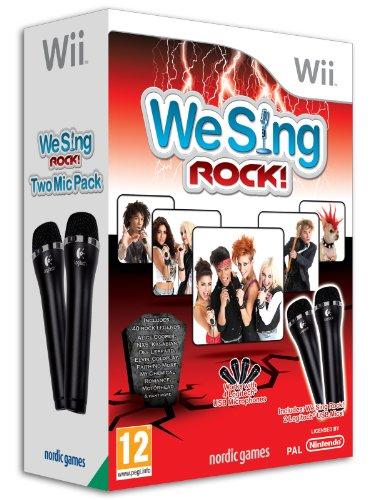 Wii We Sing Rock + 2 Microfoni