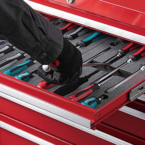 VESSEL MEGADORA Screwdriver Set 8pcs. 9008EVA (EVA foam set)