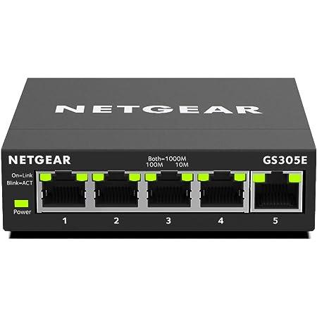Netgear Gs308e Switch 8 Port Gigabit Ethernet Lan Computer Zubehör