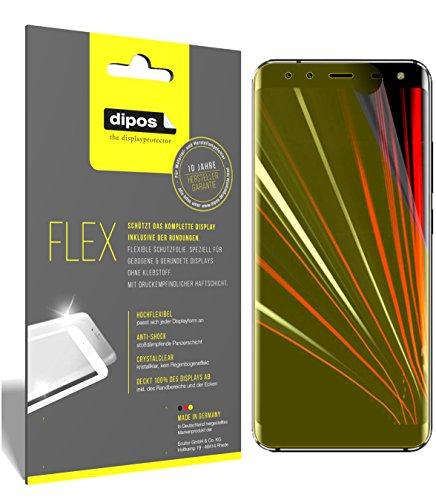 dipos I 3X Schutzfolie 100prozent kompatibel mit HOMTOM S8 Folie (Vollständige Bildschirmabdeckung) Bildschirmschutzfolie