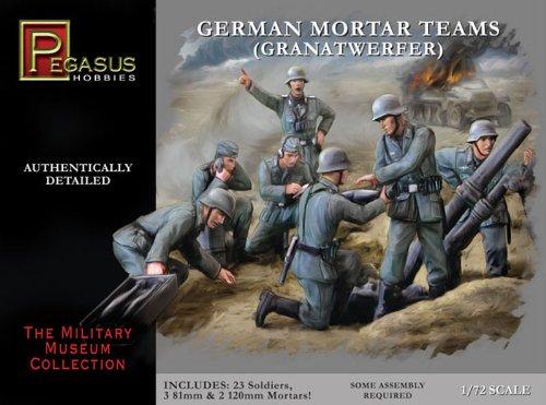 'Pegasus pg7204 – Figurine – 1/72 WW II : Allemand Grenat Phare