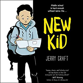 New Kid                   Written by:                                                                                                                                 Jerry Craft                               Narrated by:                                                                                                                                 Jesus Del Orden,                                                                                        Nile Bullock,                                                                                        Robin Miles,                   and others                 Length: 1 hr and 58 mins     Not rated yet     Overall 0.0