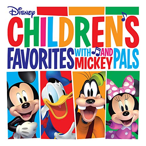 Children's Favorites with Mickey and Pals [LP] [Red]