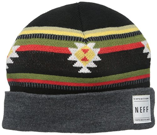 NEFF Track Bonnet Mixte Adulte, Charcoal, FR Fabricant : Taille Unique