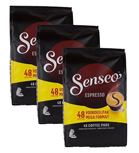 Douwe Egberts, Senseo, Espresso, 48 Coffee Pods, Intense and Corse, Triple Pack