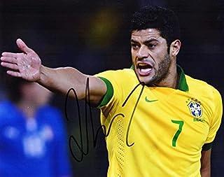 Hulk Signed - Autographed Shanghai SIPG FC - Brazil National Team Futbol - Soccer 8x10 inch Photo - Guaranteed to pass BAS - Hulk Givanildo Vieira de Sousa - Beckett Authentication