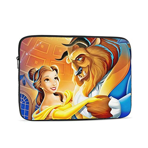 Bea-Uty and The Be-AST Laptop Sleeve Case Briefcase Cover Protective Bag Compatible 10/12/13/15/17 Inch Laptop & Tablet MacBook Air MacBook Pro Ipad