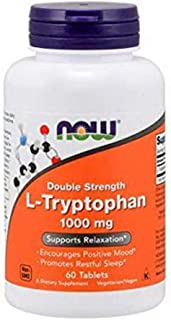 NOW Foods - Now Foods L-tryptophan 1000mg, Tablets, 60-Count [Health and Beauty]