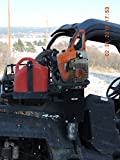 OEM UTV Roll Bar Chainsaw Mount Fits all Round Roll Bars 1 1/2' to 2' RCM-3012