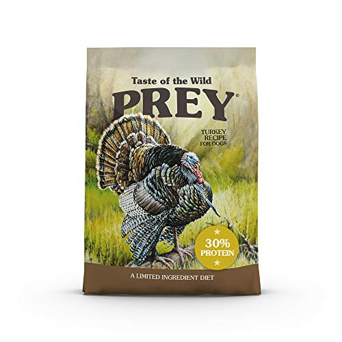 Taste of the Wild Prey Turkey Limited Ingredient - 25Lbs (418345)