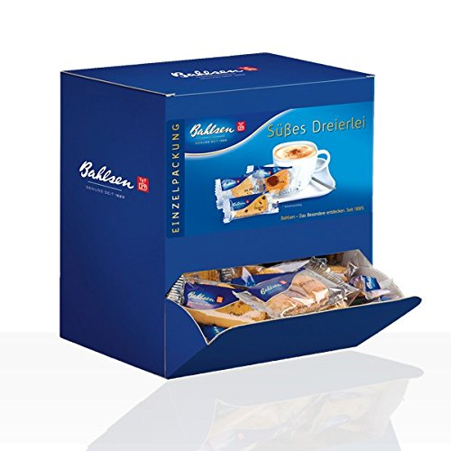 1x Bahlsen Gebäck Süßes Dreierlei Süßigkeiten, Nahrungsmittel