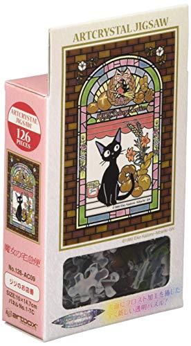 Unbekannt 126 Piece Jigsaw Puzzle (10x14.7cm) Kiki's Delivery Service Jiji Shop Assistant Frost Art Jigsaw by Puzzles
