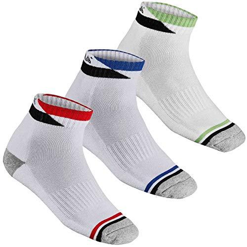 JOOLA Socke Sierro, 46-48, weiß/grün