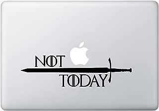 Game Thrones - NOT Today Laptop car Windows Vinyl Decal Sticker