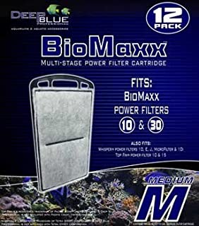 Filter Cartridge 12pk - Biomaxx 10/30 Filter