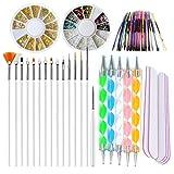 Nail Art Supplies Kit 15pc
