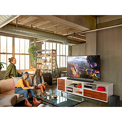 Samsung HW-Q60R Harman Kardon 5.1 Soundbar with Wireless Subwoofer, Acoustic Beam Technology, Adaptive Sound, Game Mode, 4K Pass-Through with HDR, Bluetooth Compatible, 360-Watts, Black