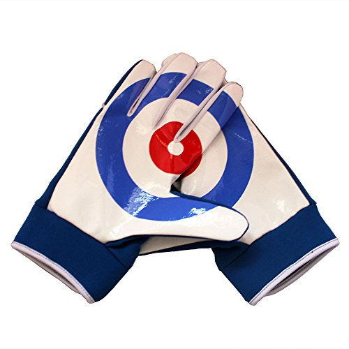 Kodiak Claws Curling Gloves - Stylish, Warm Gloves for gripping a Curling Broom and improving Sweeping Effectiveness