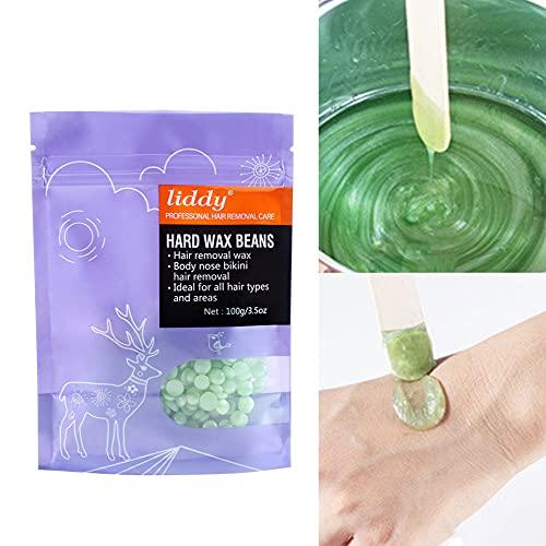 Nicejoy Wachsbohnen Liddy Haarentfernung Wachsbohnen Schmerzlose Körpergesicht Bein Depilatory Hartwachs Bohnengrüße 100g