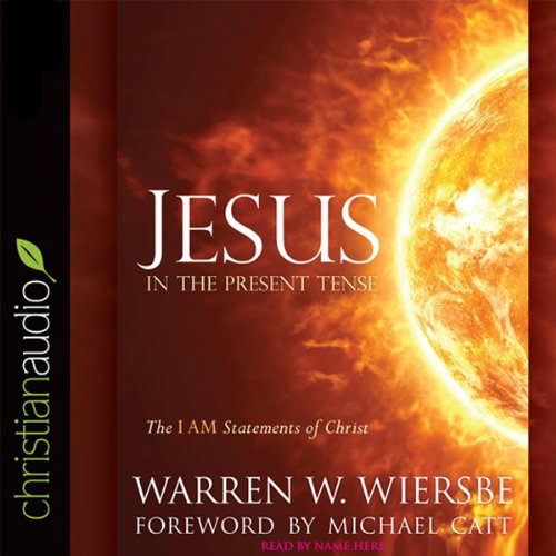 Jesus in the Present Tense audiobook cover art