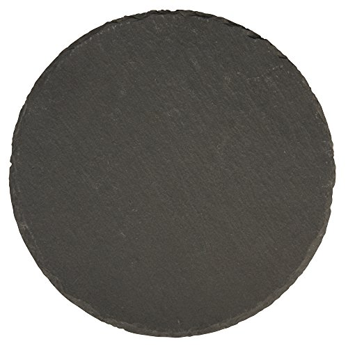 Rayher 56531000 Schiefer Platte, 15cm ø