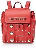 Love Moschino Borsa PU, Bolso tipo mochila para Mujer, Rojo (Rosso), 31x34x12 centimeters (W x H x L)