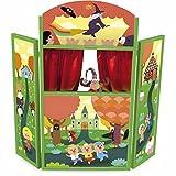 Théâtre Théâtre de marionnettes en triptyque pour enfant