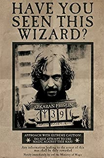 Harry Potter and The Prisoner of Azkaban - Movie Poster/Print (Wanted: Sirius Black) (Size: 24 inches x 36 inches)