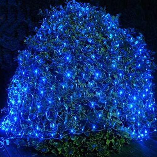YUNDING Lights Mesh Fairy Lights Decoration Outdoor LED Net Light Garden Decorative Waterproof 220V 110V Wedding Party Holiday(Size:6mX4m)