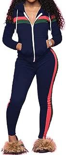 Women's 2 PCS Plus Size Tracksuit Sets Sweatsuits Outfits Hoodie Sweatshirt and Jogging Sweatpants Suit