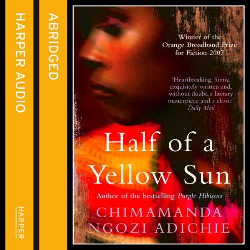 Half of a Yellow Sun audiobook cover art