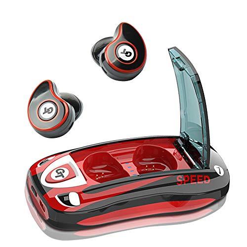 Bluetooth Cuffie Senza Fili Auricolari Headphones, Bluetooth 5.0 Cuffie Wireless Earphones Waterproof con Microfono Stereo Sportivi Sport Cuffie per S