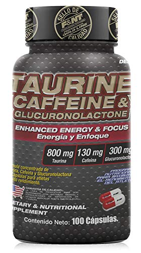 TAURINE, CAFFEINE & GLUCORONOLACTONE CAPSULE