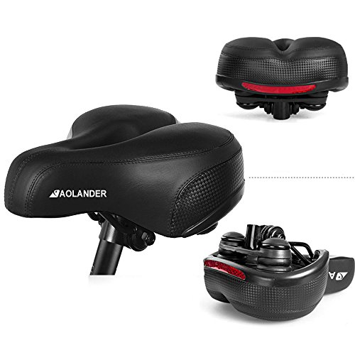 Absorbing Aolander Bicycle Saddle with DUAL SHOCK