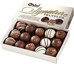 No Whey Foods - Chocolate Truffle Collection (15 Pieces) - Vegan, Plant Based, Gluten Free, Dairy Free, Nut Free, Peanut F...