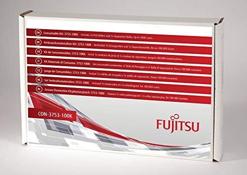 FUJITSU Includes 7x pickrollers en 1x scheidingsroller Estimated Life Up to 100K scans