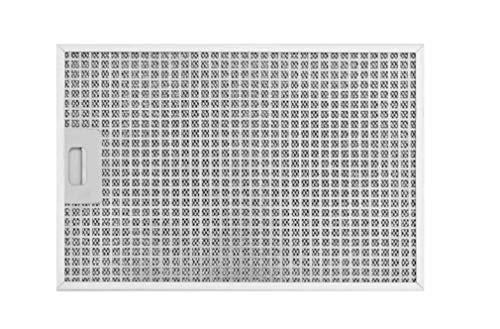 SILVERLINE MFF12-E-40 Edelstahl-Metallfettfilter, 12-lagig, für Totem Isola Inselhaube/Dunstabzugshaubenzubehör/Filter