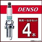 DENSO イリジウムパワー スパークプラグ マーチ HK11/FHK11 H4/1~H11/11 CG13DE 品番IK16(4本)