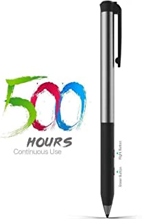 Surface Pen Support 500Hrs Working & 180Day Standby Surface Pro Pen 4096 Pressure Sensitivity Rechargeable Surface Go Pen for Drawing Compatible with Surface Pro/Laptop/Book/Studio/Surface Neo