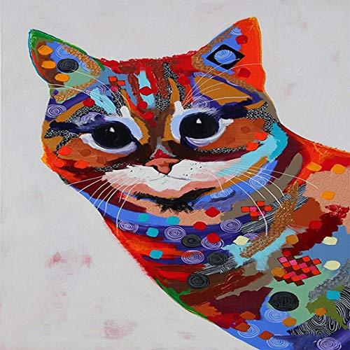 Graffiti Kunst Tier Leinwand Malerei Pferd Giraffe Poster und druckt dekorative Bild für Wohnzimmer 20x30cm