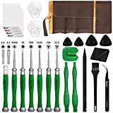 Kaisi 26 in 1 Repair Tool Kit for Nintendo Switch, Y00 Y2.0 Triwing 3.8+4.5mm Security Gamebit and Torx T6H T8H T10H Screwdriver Set for Nintendo Switch Lite/JoyCon, NES/SNES/GBA/DS/Lite/Wii, Gamecube