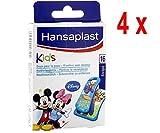4 x Hansaplast Pflaster - Kinder Disney Mickey & Freunde - 16 Streifen