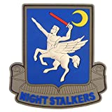 160th SOAR Night Stalkers Airborne Regiment Operation Red Wings PVC ラバー 3D ベルクロ面ファスナー パッチ Patch