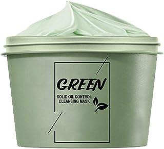 Groene klei masker, groene theekoeling reinigen slib gezichtsbescherming, olie controle acne clearing meeMasker voor vrouw...